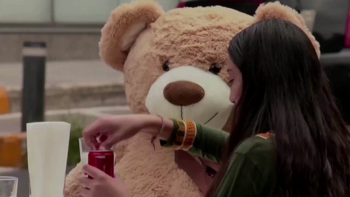 WATCH: This Mexican cafe is using giant teddy bears to encourage customers to maintain social distancing https://t.co/xDQX7yF3nf