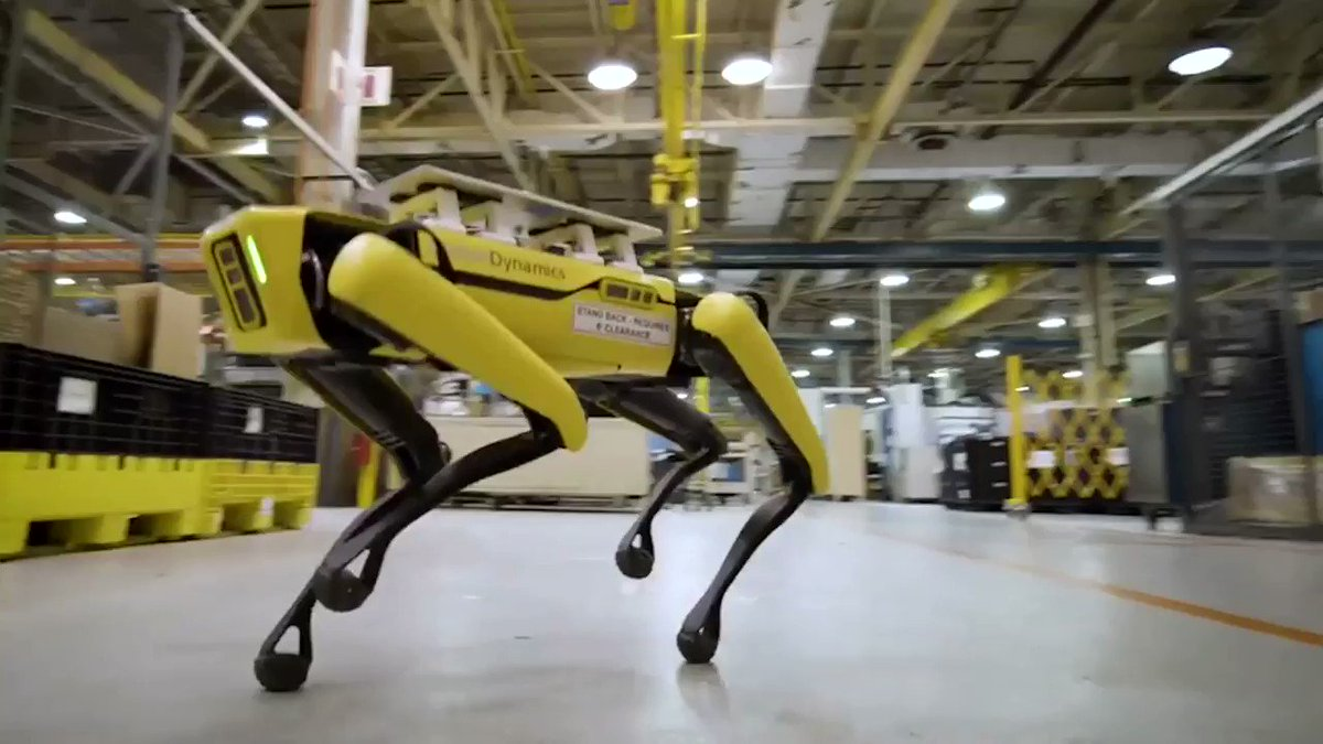 WATCH: Ford's robot dogs could help bring new vehicles to the market faster https://t.co/D7qi6PNNBA