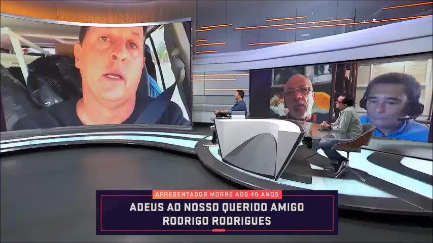 """Benjamin Back se emociona ao falar sobre Rodrigo Rodrigues e exalta seu exemplo: """"Que fique esse legado dele para parar com essa cultura do ódio"""" #SeleçãoSporTV https://t.co/oZKAgGV3HA"""