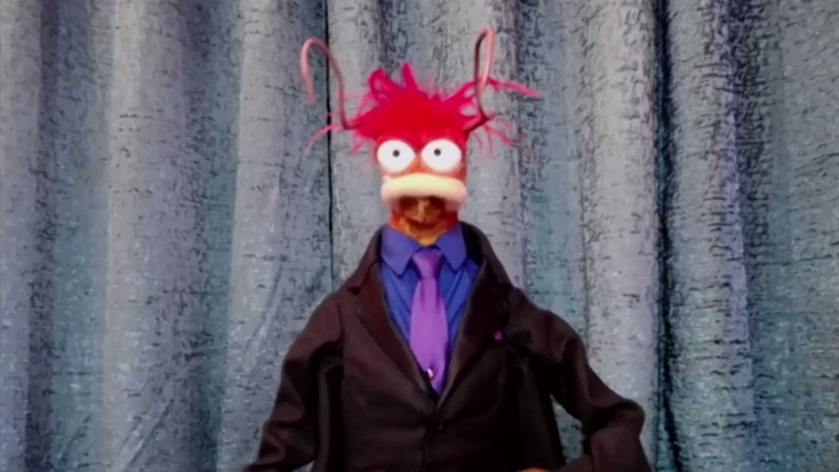 Ready for his pay day: Pepé the King Prawn shares his favorite part of being on the new #MuppetsNow show.