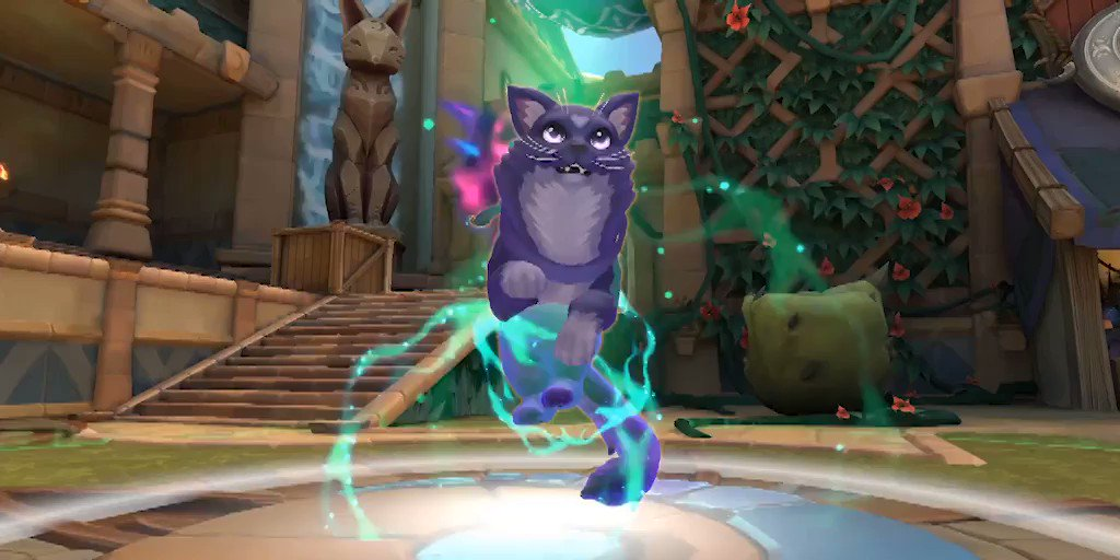 We know youre loving Radiant Stars in Paladins but how many of you are fans of Mew Mew? Shes an absolute unit.