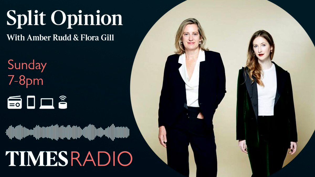 In this weeks sneak preview of Split Opinion, Flora Gill and Amber Rudd are talking wedding cakes made in the bath, and resurrected wedding dresses. Tune in between 7-8pm tonight to hear the rest. @FloraEGill | @AmberRuddUK | times.radio