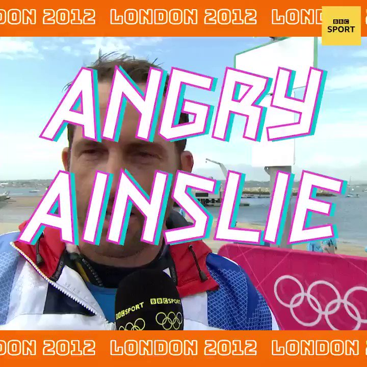 Dont make Ben Ainslie angry 😡 On this day at London 2012, @AinslieBen made his feelings known... Heres what else happened on day six of those Olympic games: bbc.in/39OcBQp #bbcolympics
