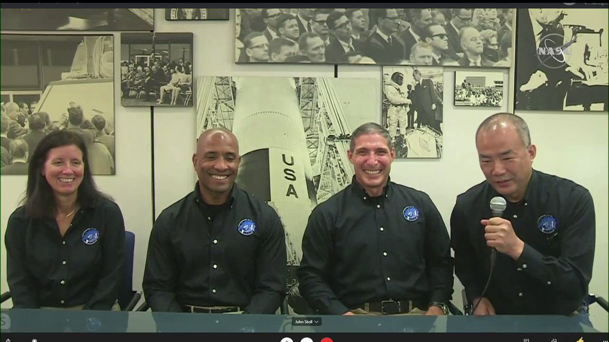 Diversity brings the resilience to this crew. @Astro_Soichi of @JAXA_en is honored to be a part of the Crew-1 mission, the next @SpaceX flight to the @Space_Station.