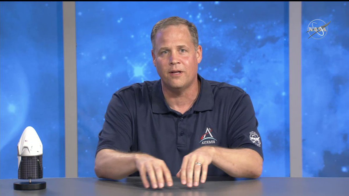 Today was a great victory, but it was just the beginning. The #Artemis program is our sustainable return to the Moon. As we celebrate todays #LaunchAmerica success, Administrator @JimBridenstine reminds us to look to the future: