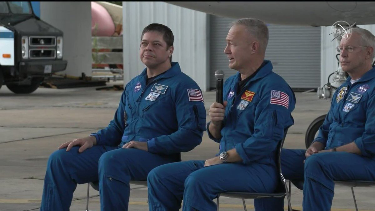 Five hours ago we were bobbing around in the Gulf of Mexico. @Astro_Doug reflects on the journey that took him and @AstroBehnken to the @Space_Station and back with the @Commercial_Crew program. #LaunchAmerica