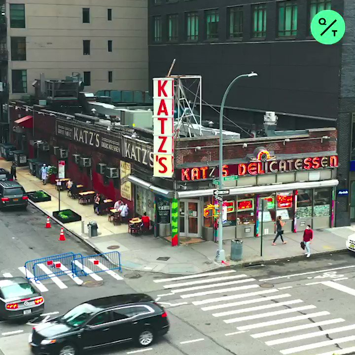✅ 1918 pandemic ✅ World Wars I & II ✅ Great Depression ✅ Great Recession New York's s famous Katz's Delicatessen weathered multiple crises while serving its famous pastrami sandwiches. Now it's adapting to a pandemic reality. https://t.co/965Uk2Xrw8 (Video via @QuickTake) https://t.co/3ZRUqyanFu