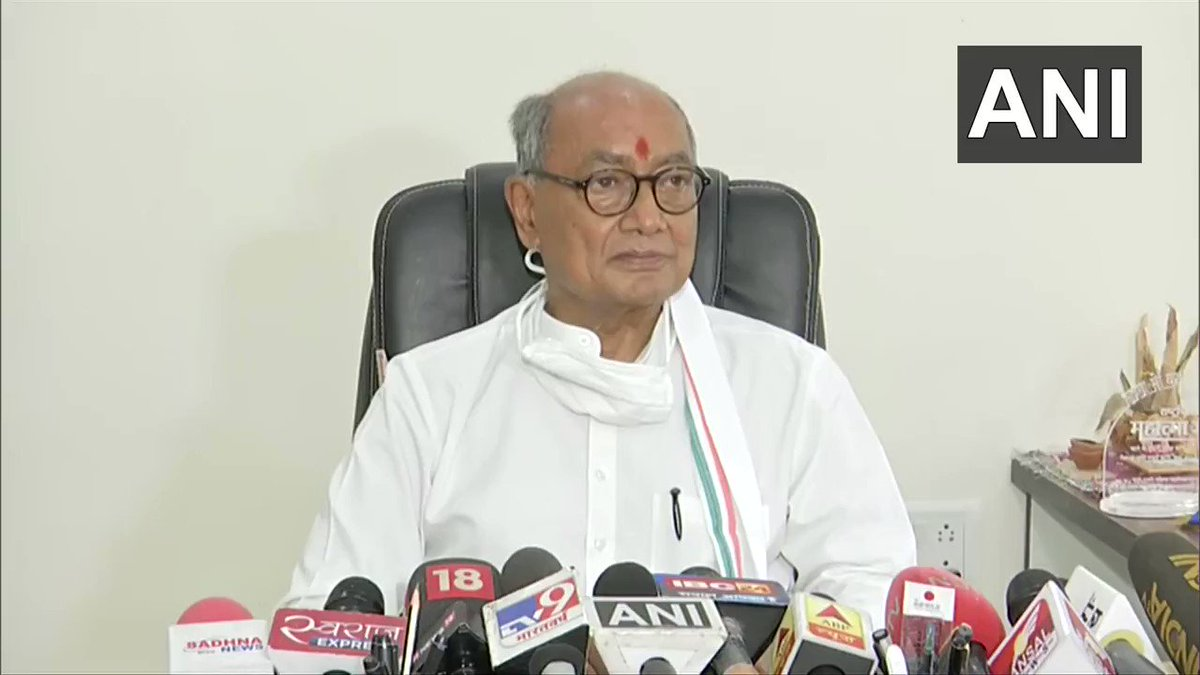 #WATCH Foundation stone has already been laid, Rajiv Gandhi ji did it: Digvijaya Singh, Congress on being asked about Kamal Nath's statement that Rajiv Gandhi also wanted #RamTemple to be constructed https://t.co/BvViPC2KSI