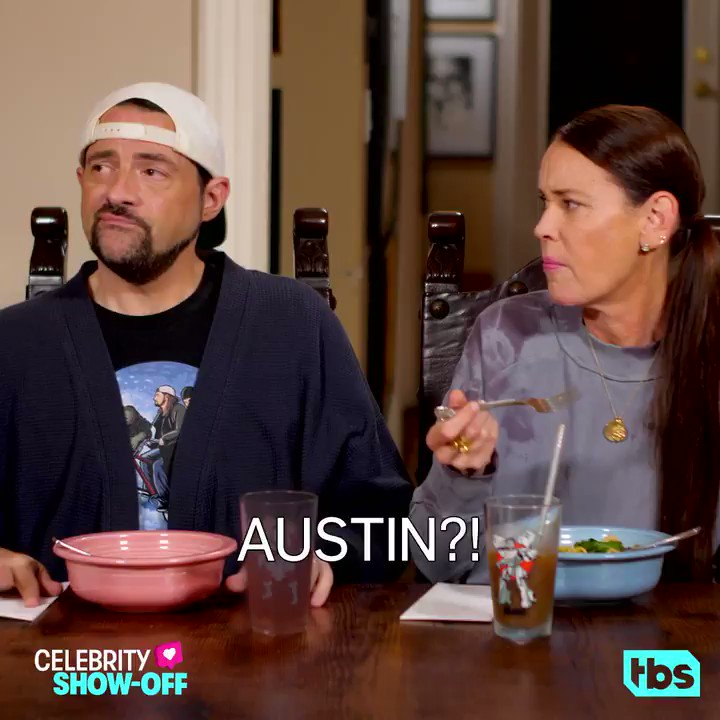 Austin may not be the best at @ThatKevinSmith's video game, but he is an evil genius #celebshowoff