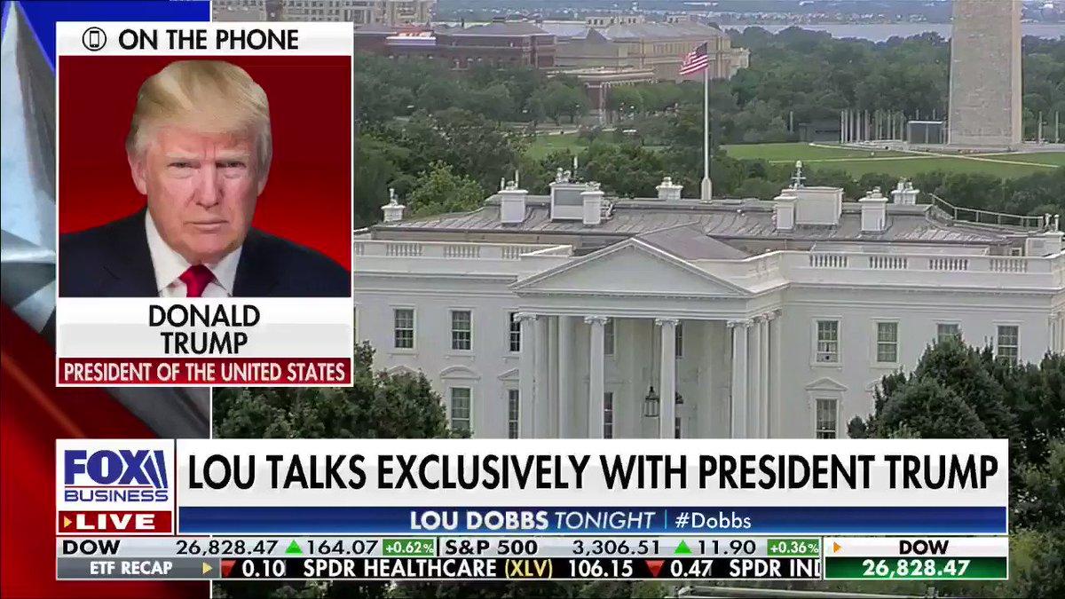 Record Setting Enthusiasm: President @realDonaldTrump says he thinks he has more support than ever. #AmericaFirst #MAGA #Dobbs