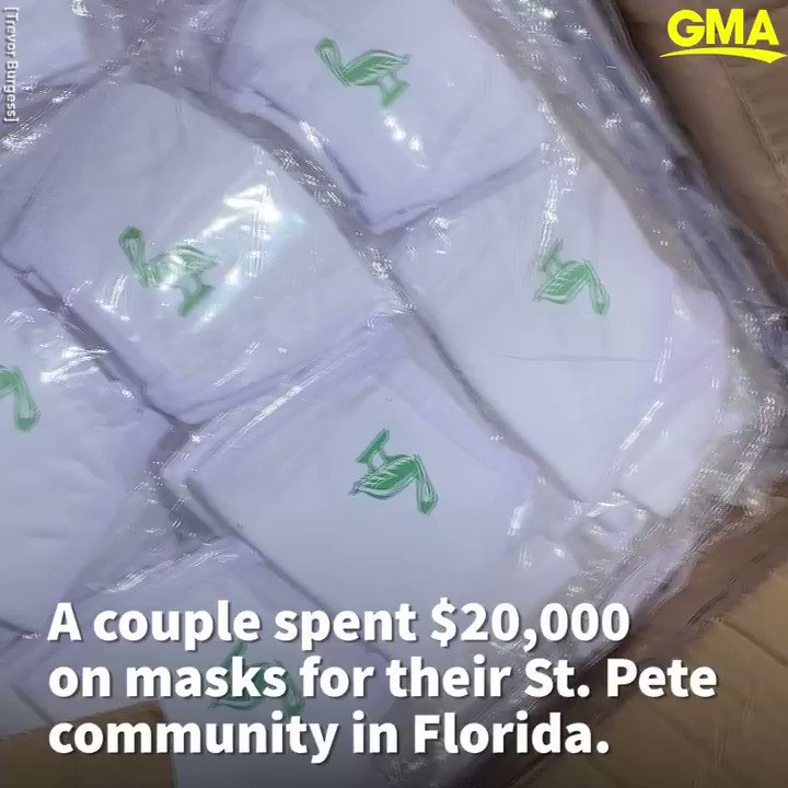 This Florida couple raised $20,000 to buy masks for their community. gma.abc/2Dx22oM