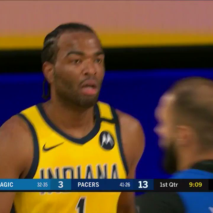 He just won't be denied 😤   @TonyWarrenJr finishes with: 32 points 13-of-17 FG 4-of-5 3P 3 AST 3 STL https://t.co/JaPB407WQK