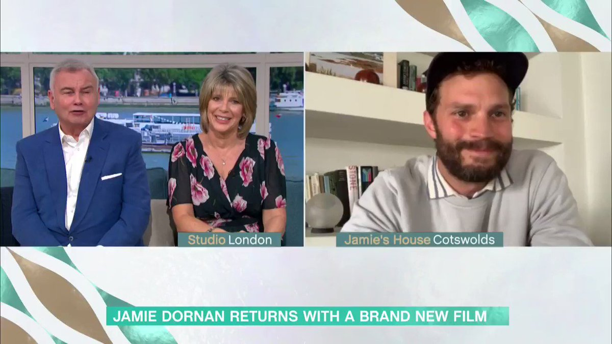 I thought about running away, I was that terrified Jamie Dornan shares that he considered running away on the first night of shooting his new film because he was so nervous about improvising the script. Tune in to the interview 👉 bit.ly/3f50AZ4 #ThisMorning