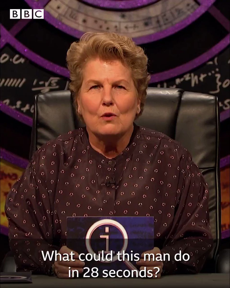Wow, talk about a bad day at the office... 😳 #QI
