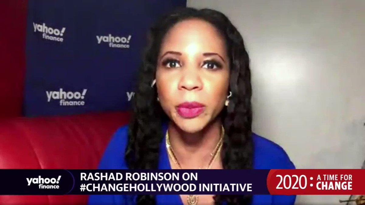 Highlight: @ColorOfChanges @rashadrobinson on how hes pushing for racial justice in Hollywood: I know Hollywood can make changes when they believe in the humanity and dignity of the people they are representing. More: