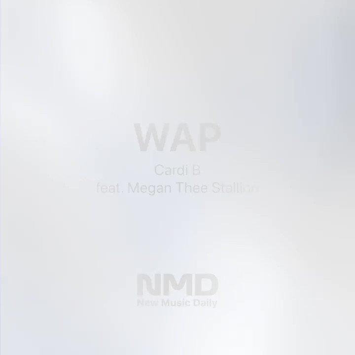Image for the Tweet beginning: #WAP @iamcardib x @theestallion Listen on #NewMusicDaily: