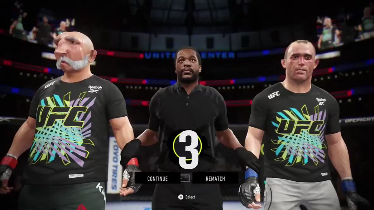 Here is how my UFC 4 career is going...