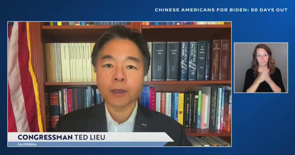 Rep. Ted Lieu: '[President Trump] has made America weaker.'