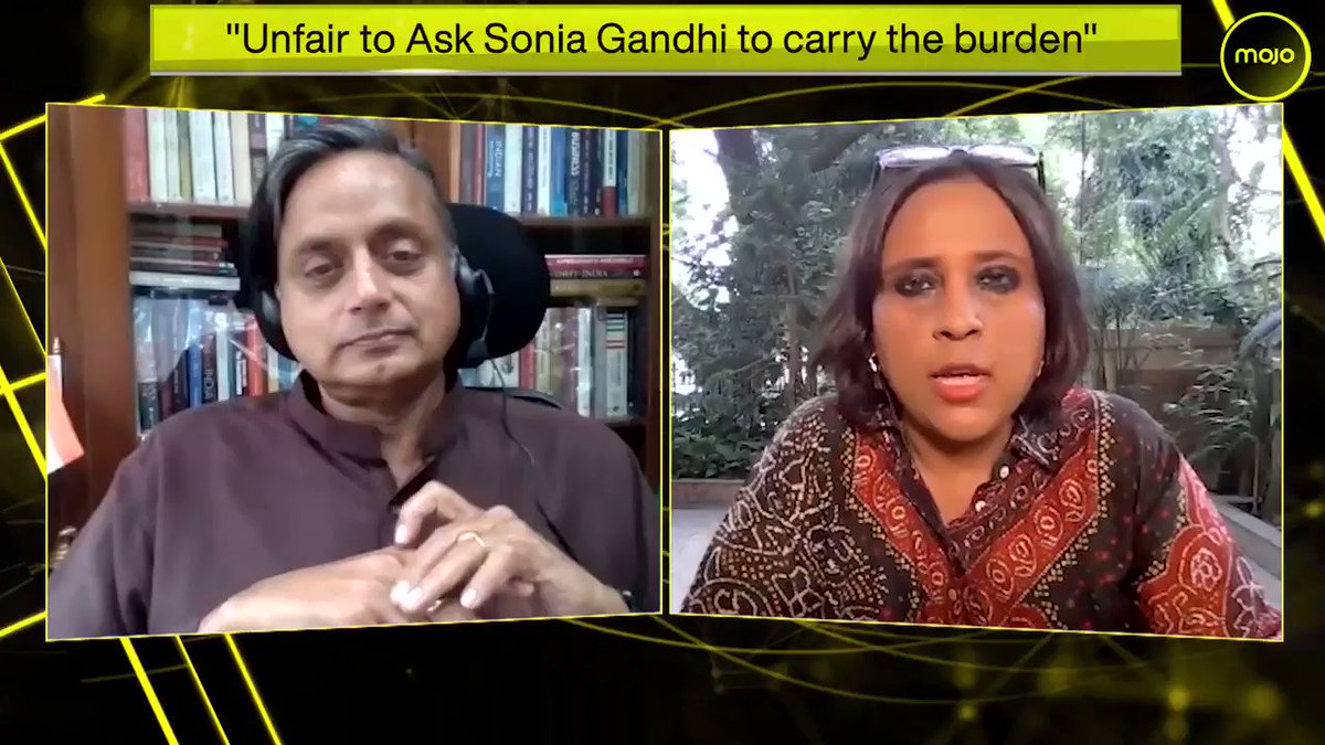 As Sonia Gandhi completes 1 year as interim President @ShashiTharoor on the partys leadership crisis, the perception of it being rudderless, why either @RahulGandhi should take the post or the party should opt for an open race- Full interview coming soon to @themojo_in