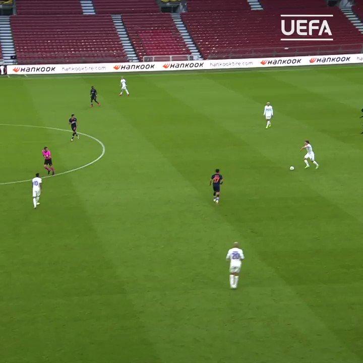 Rasmus Falk last time out ⚽️  @FCKobenhavn   #UEL https://t.co/YBETxBGtod