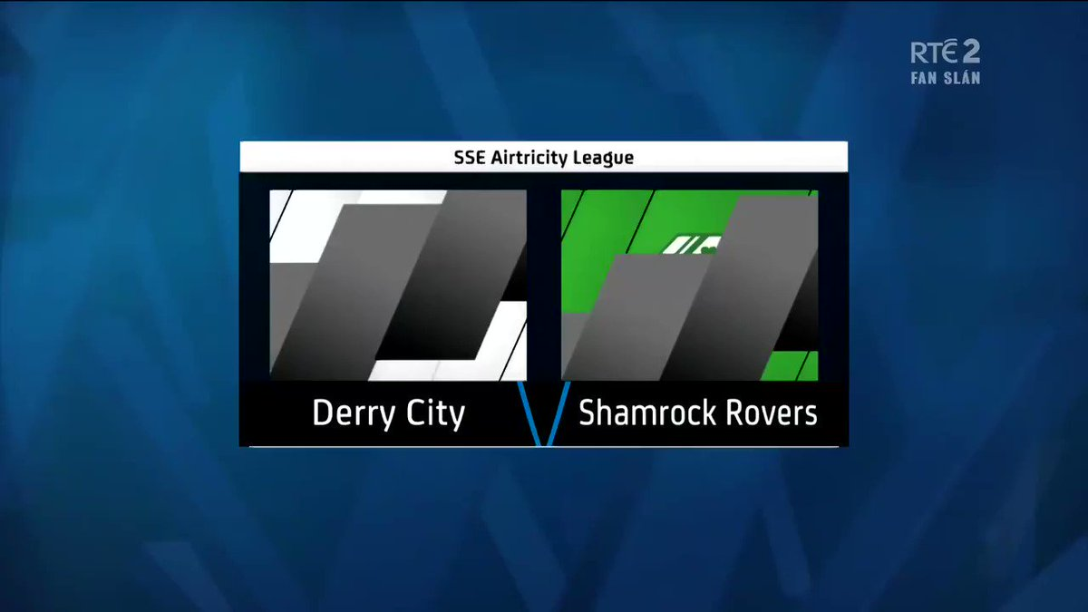 Match Highlights   Derry City 1-2 Rovers   9th August 2020