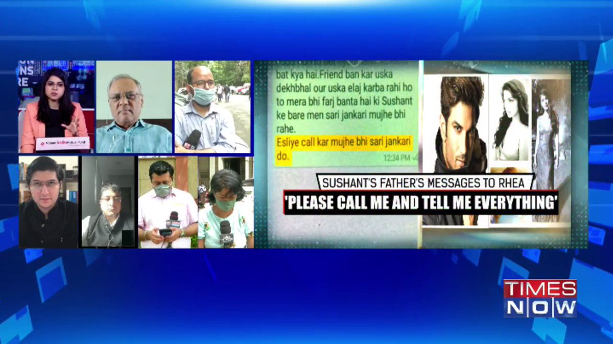 The angle cannot be Rhea siphoned off Sushants money because they were in a live-in relationship: @ManasviThapar, Lawyer & Political Analyst tells TIMES NOW. | #SushantMurderQuestion