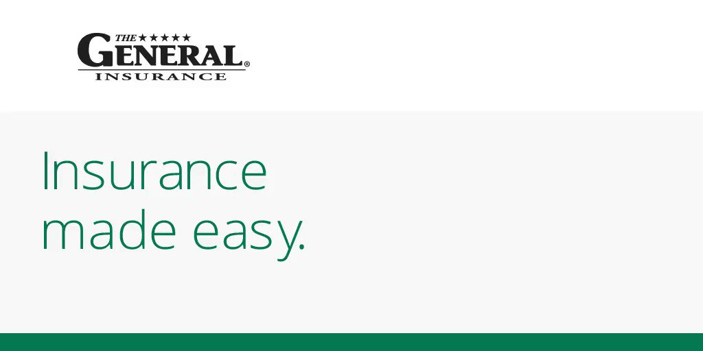 The General Insurance app makes it easy to manage your insurance, make payments, or file claims all from your phone! Download the app today:  #RideWithTheGeneral