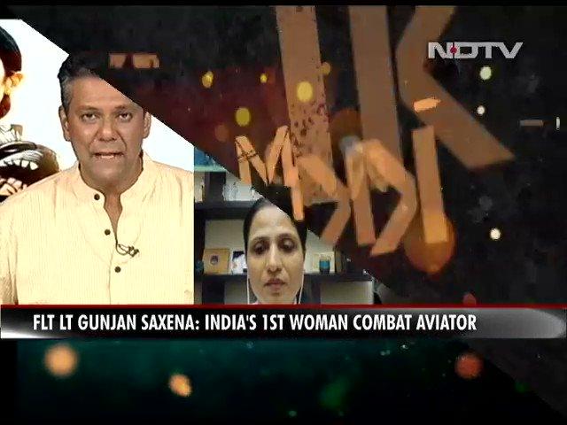 Ndtv On Twitter Watch It Was An Honour To Know Gunjan Saxena Janhvi Kapoor Actor Gunjansaxenathekargilgirl