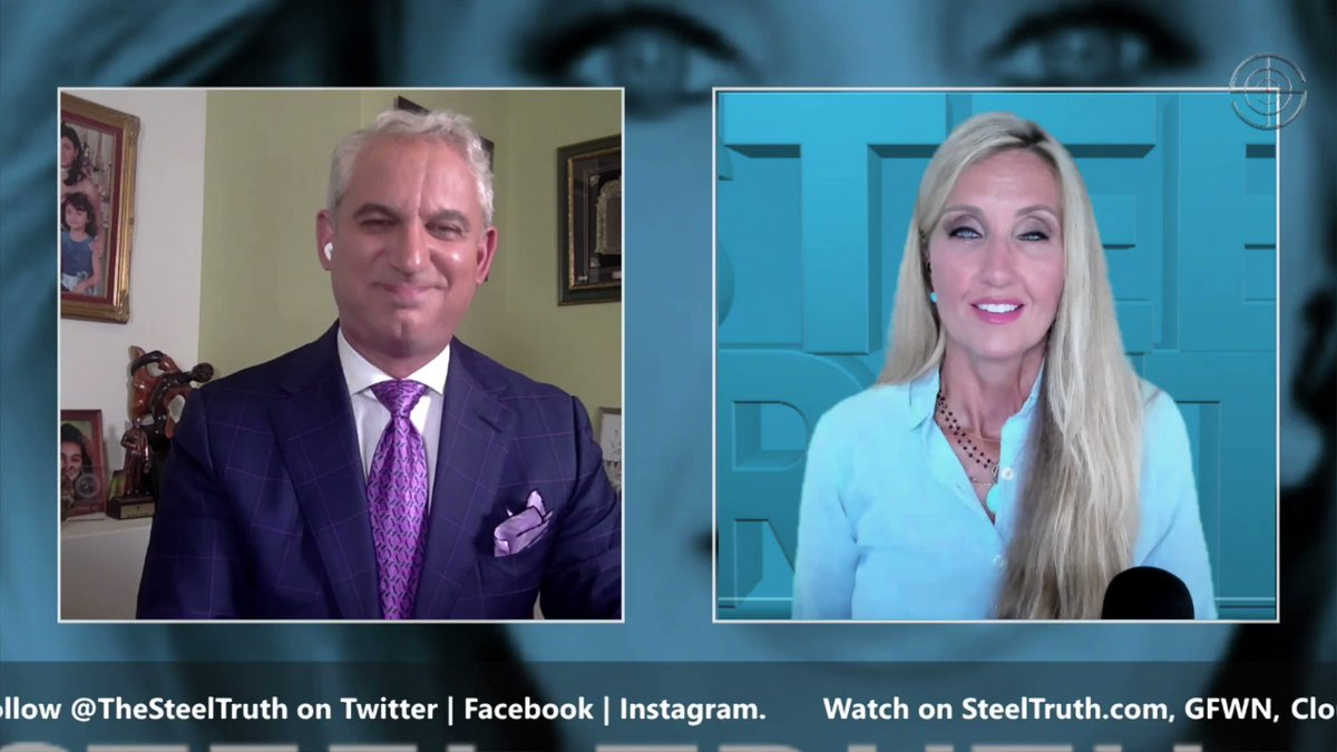Last night I appeared on #SteelTruth with @AnnVandersteel to discuss the TRUTH & FACTS surrounding COVID-19. Check out some of the highlights.