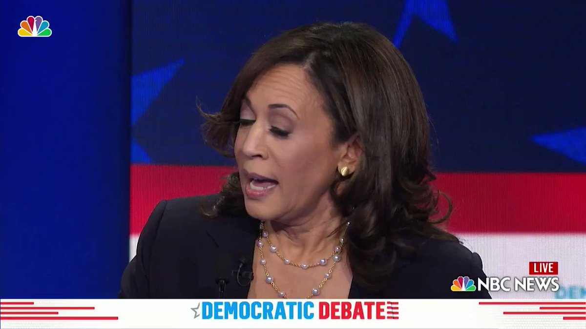 Biden & Harris Not so long ago she called him out as being a Racist at a Debate & has always been a harsh critic of him A disaster waiting to happen 🤣 I cant wait for the TRUMP2020 LANDSLIDE 🇺🇸 Who agrees?