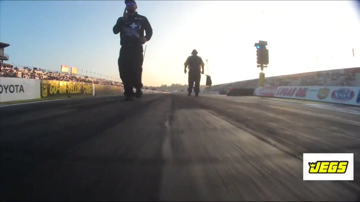 Image for the Tweet beginning: In-car footage is AWESOME!   Here
