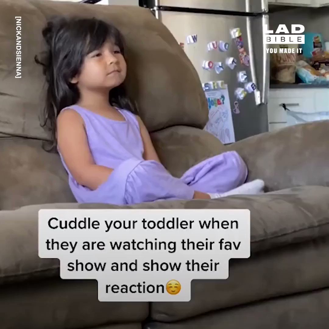 This 'cuddle your kid' TikTok challenge is too wholesome ❤🙌 https://t.co/f3tj3BP9Yi
