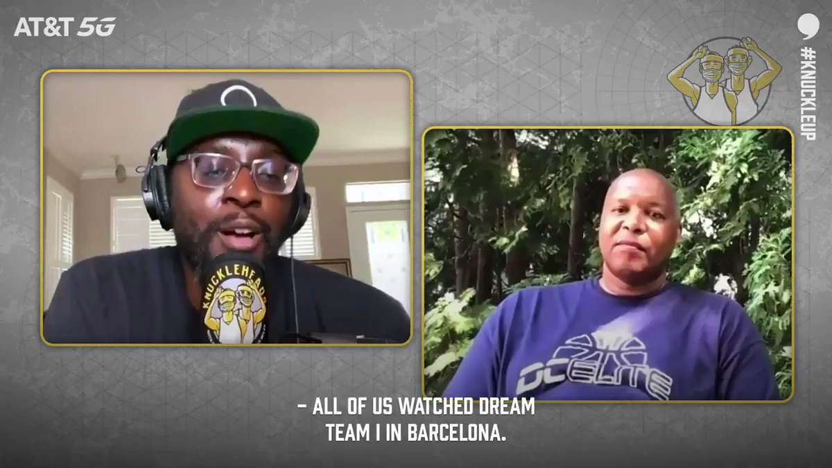 They cant f*** with us! @44TheLegend will take Dream Team II over Dream Team I any day of the week. 🔊: playerstribu.ne/knuckleheadspod #KnuckleUp | @QRich | @21Blackking