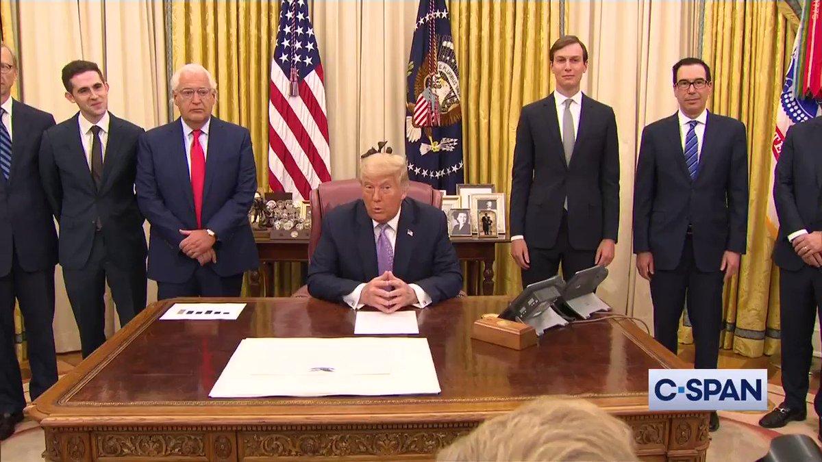 President Trump announces Peace Accord Between Israel and the United Arab Emirates (UAE). Full video here: cs.pn/2DWBxcK