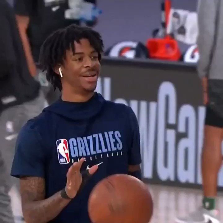 Ja Morant and the @memgrizz can CLINCH a spot in the Western Conference Play-In with a win against MIL! #WholeNewGame   ⏰: 4 PM ET on NBA LP 📲💻: https://t.co/3boM6jSbND https://t.co/IX28Gov4iF