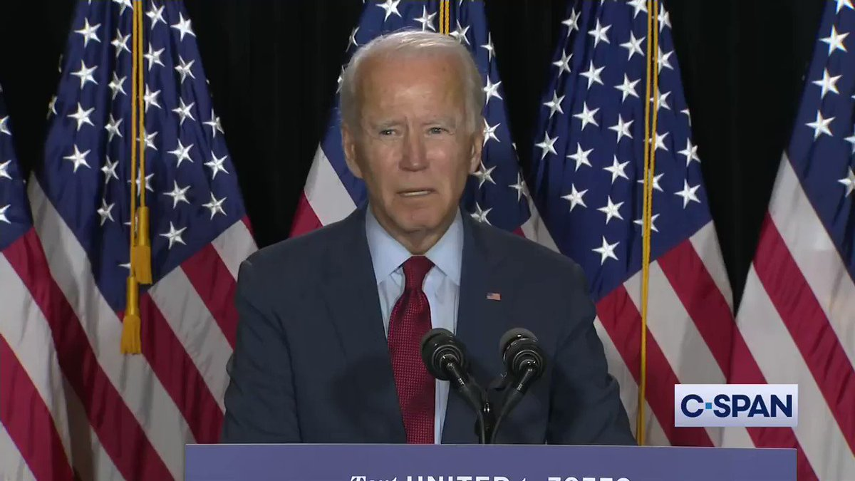 .@JoeBiden: Be a patriot. Protect you fellow citizens...step up, do the right thing...lets institute a mask mandate nationwide starting immediately. @KamalaHarris: Thats what real leadership looks like.