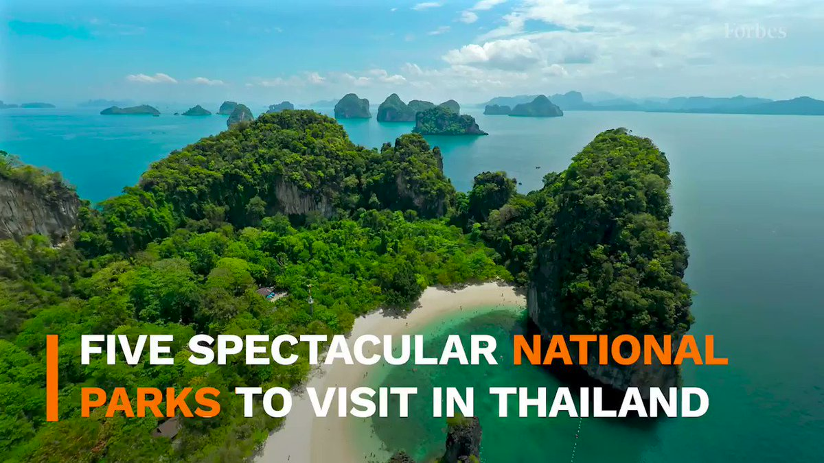 Image for the Tweet beginning: 5 of Thailand's most stunning