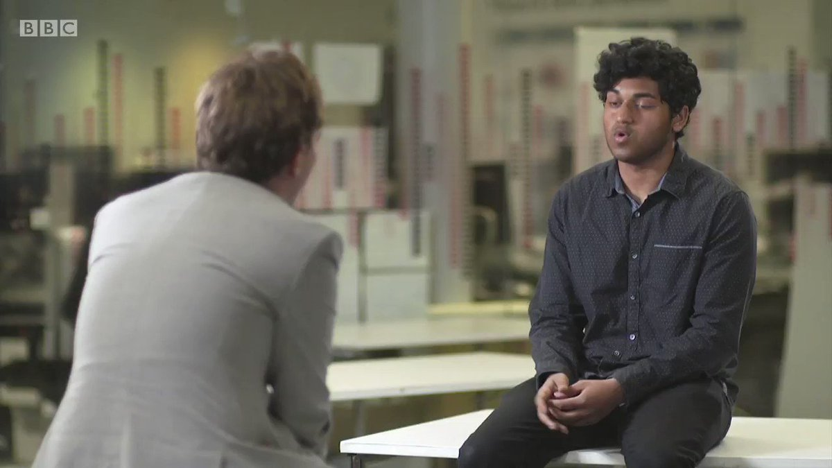 """I wanted to make everyone that believed in me proud… I knew I could get those grades if I actually did the exams.""  Mithushan Thiagarajah had an offer to read medicine at Cambridge and was predicted 4 A*s. Today he was downgraded and the offer has been withdrawn.  #Newsnight https://t.co/40l2x9o7sX"