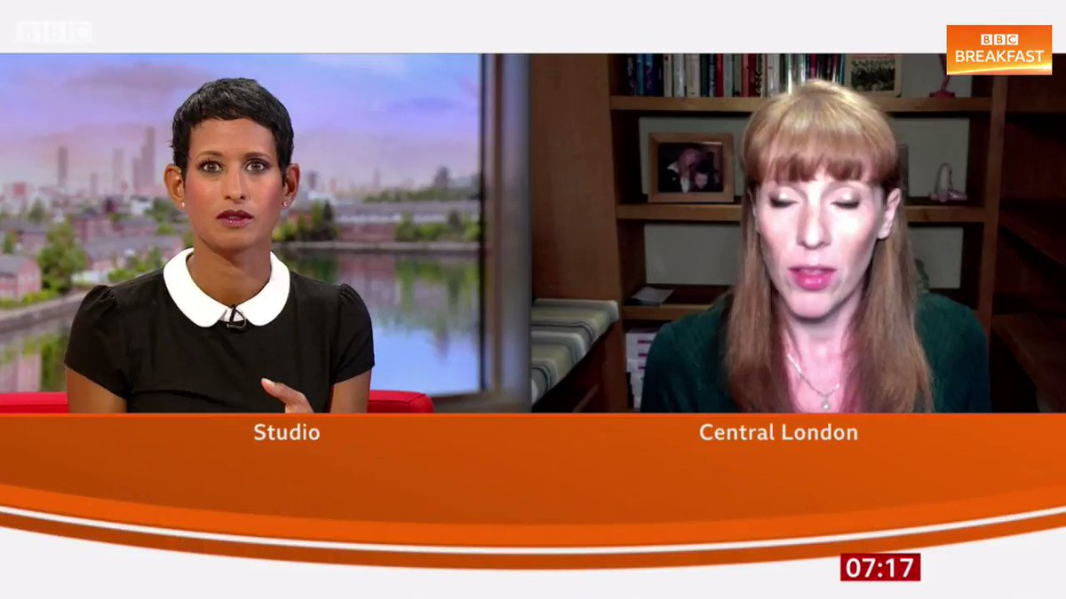 This system... is disproportionately unfair to the vast majority of young people Labour Deputy Leader, Angela Rayner, tells #BBCBreakfast the system takes on board the historic context of the school. More here: bbc.co.uk/news/education…