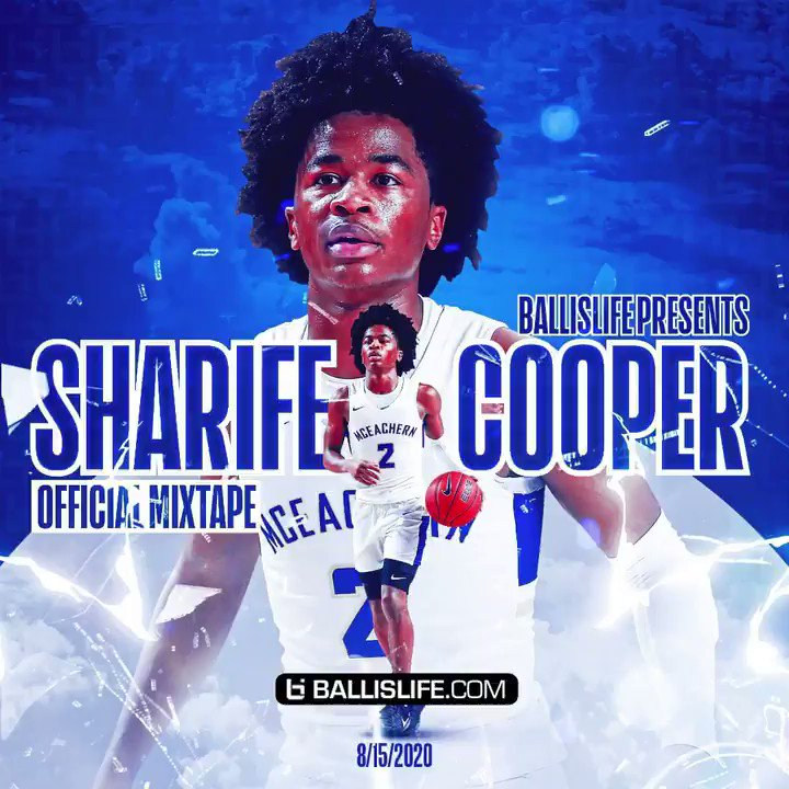Sharife Cooper had a legendary high school career and we turned it into this dope mixtape 🔥 🔥 🔥 @CooperSharife https://t.co/mTnlI2nmGY