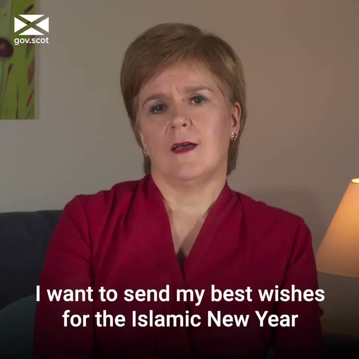 First Minister @NicolaSturgeon has wished Scotland's Muslim communities a peaceful, happy and safe Islamic New Year