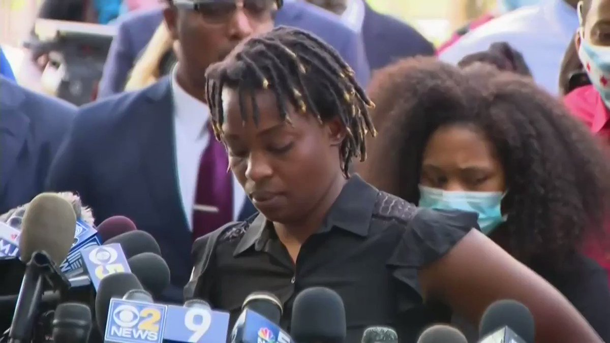 Jacob Blake's sister: 'I'm not sad. I'm not sorry. I'm angry. And I'm tired. I haven't cried one time. I stopped crying years ago. I am numb. I have been watching police murder people that look like me for years.' (warning: distressing)