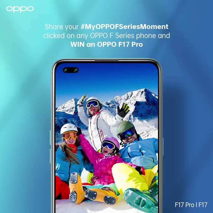 Get a chance to win 10 #OPPOF17Pro phones! Got ❤️ for the #OPPOFSeries? Just share your memorable story with #MyOPPOFSeriesMoment  and a watermarked photo and tag us to stake your claim on the big win and #FlauntItYourWay! 🥳🥰 https://t.co/gOlLRHNI8w