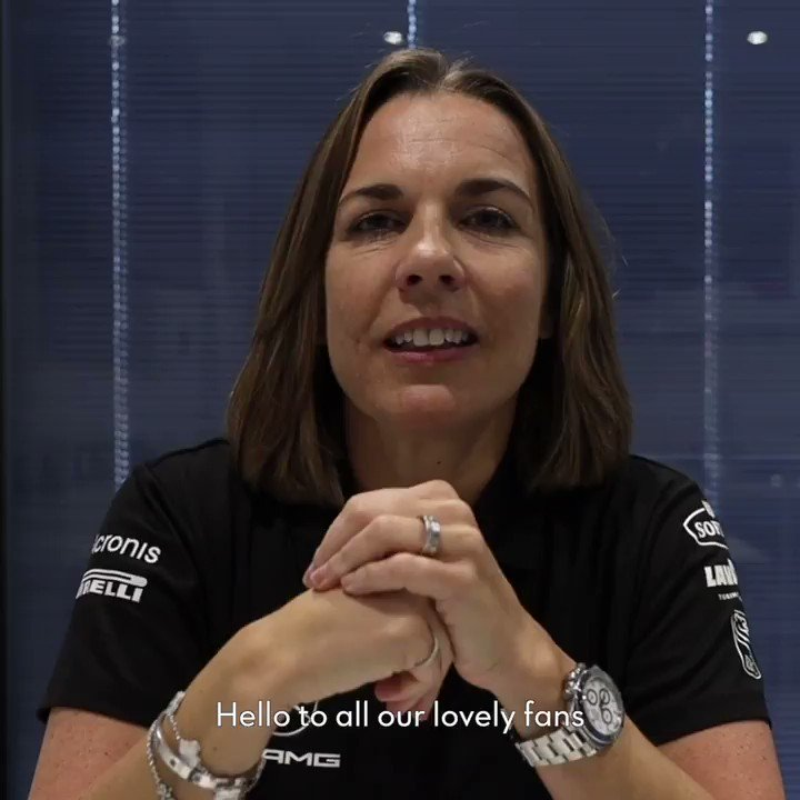 A message from Claire, to our fans.  #WeAreWilliams 💙 https://t.co/6pKb7t2tkH