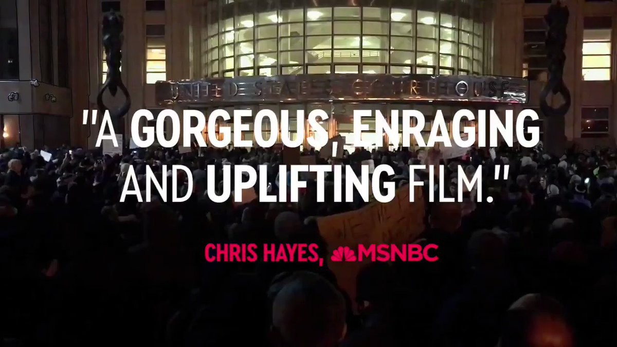 """""""A gorgeous, enraging and uplifting film"""" — @chrislhayes. #TheFightMovie is available everywhere at"""