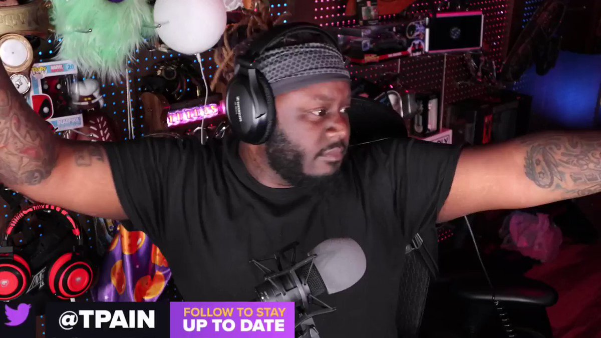 This is how @TPAIN starts his Twitch streams 🔥 https://t.co/IZhqTSq7Cl
