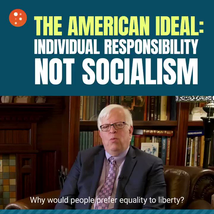"""Image for the Tweet beginning: Socialism """"sounds good"""" to Americans"""