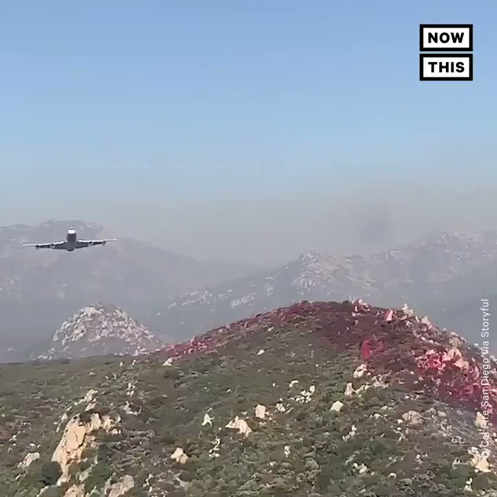 This Boeing 747 is one of multiple airplanes that have been repurposed as a wildfire-fighting 'supertanker' in California https://t.co/6RQbG8P4rm