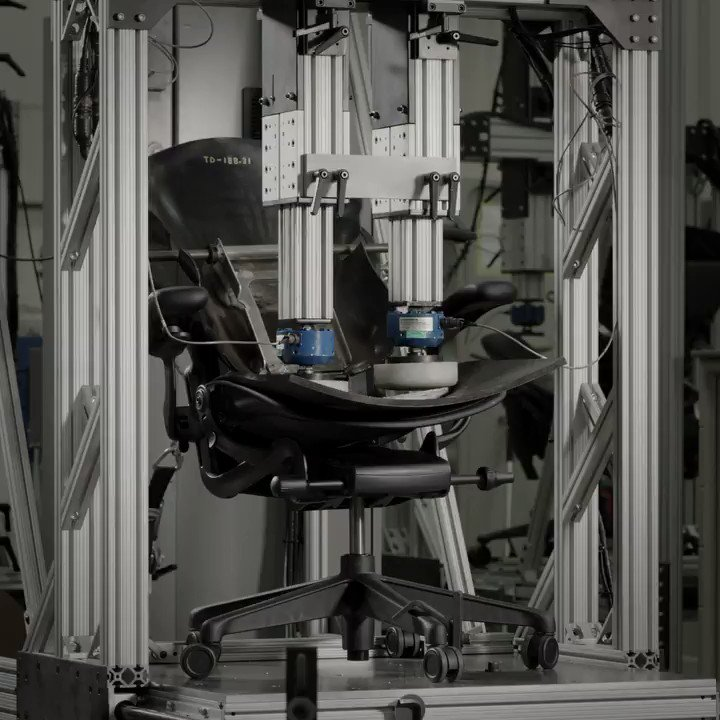Do most gaming chairs come with a 12-year warranty? Asking for a friend. Aeron sure does. And we're proud that it's designed, assembled, and rigorously tested at our global HQ here in Michigan. https://t.co/wQUw1mDkCY #hmgaming https://t.co/GiWcs7CNhX