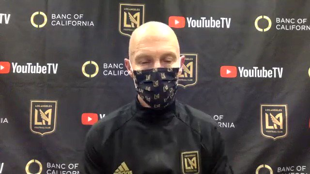 """""""We are in a period well below our standards. There's only one thing we can do, play ourselves out of it.""""  Bob Bradley on the Club's tough stretch.  #LAFC https://t.co/6Xt485TX7Y"""